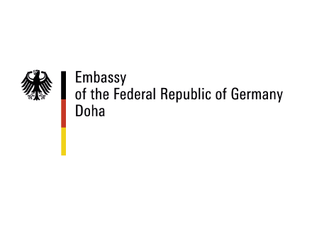 Embassy of the Federal Republic of Germany Doha Logo