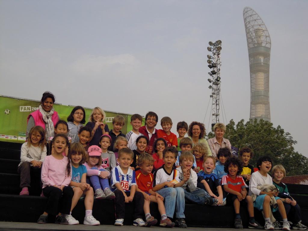 Besuch des Fanfestes am 16.01. im Rahmen des AsiaCup 2011
