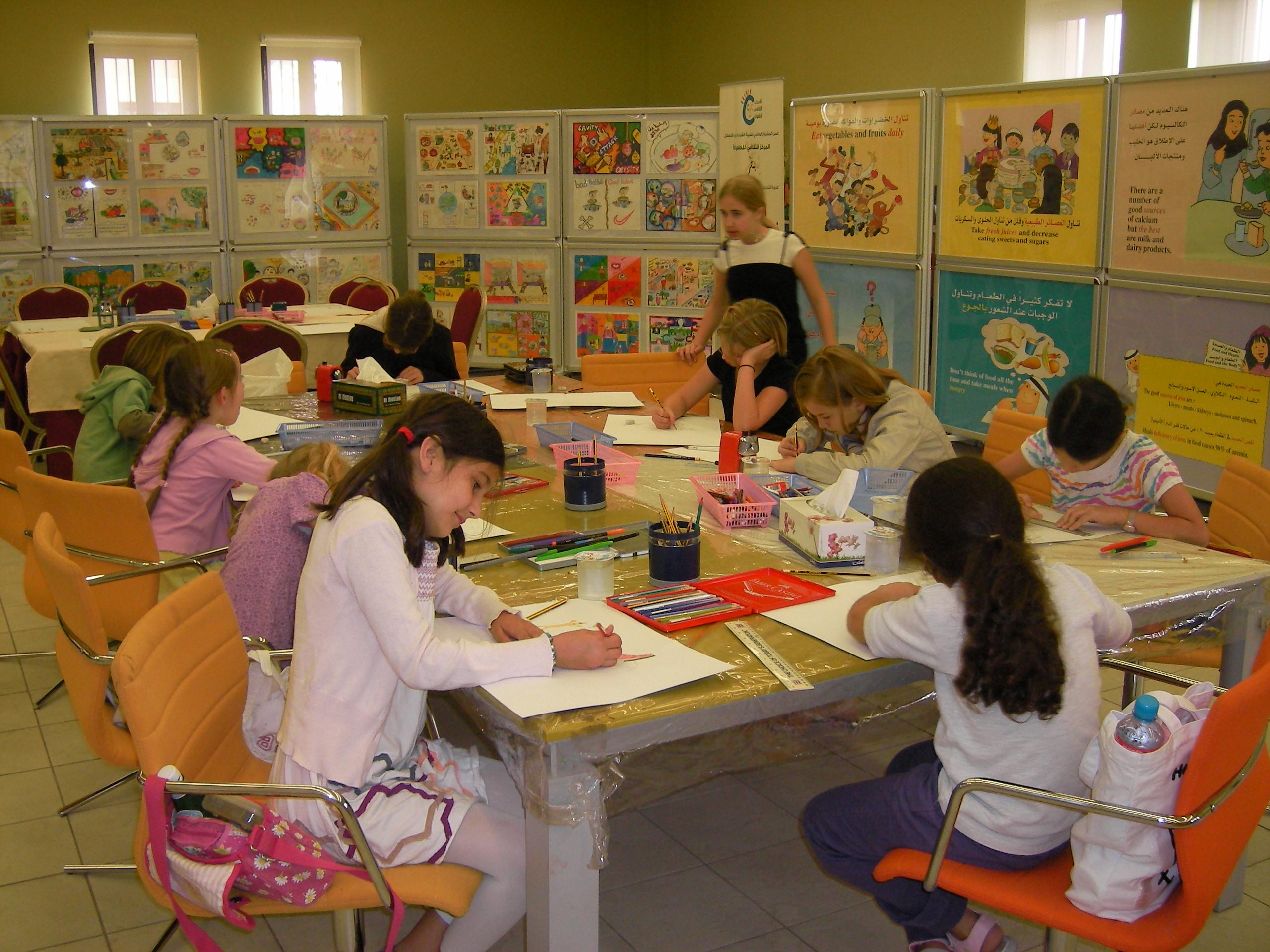 Die 3. und 4. Klasse besuchte das Cultural Village