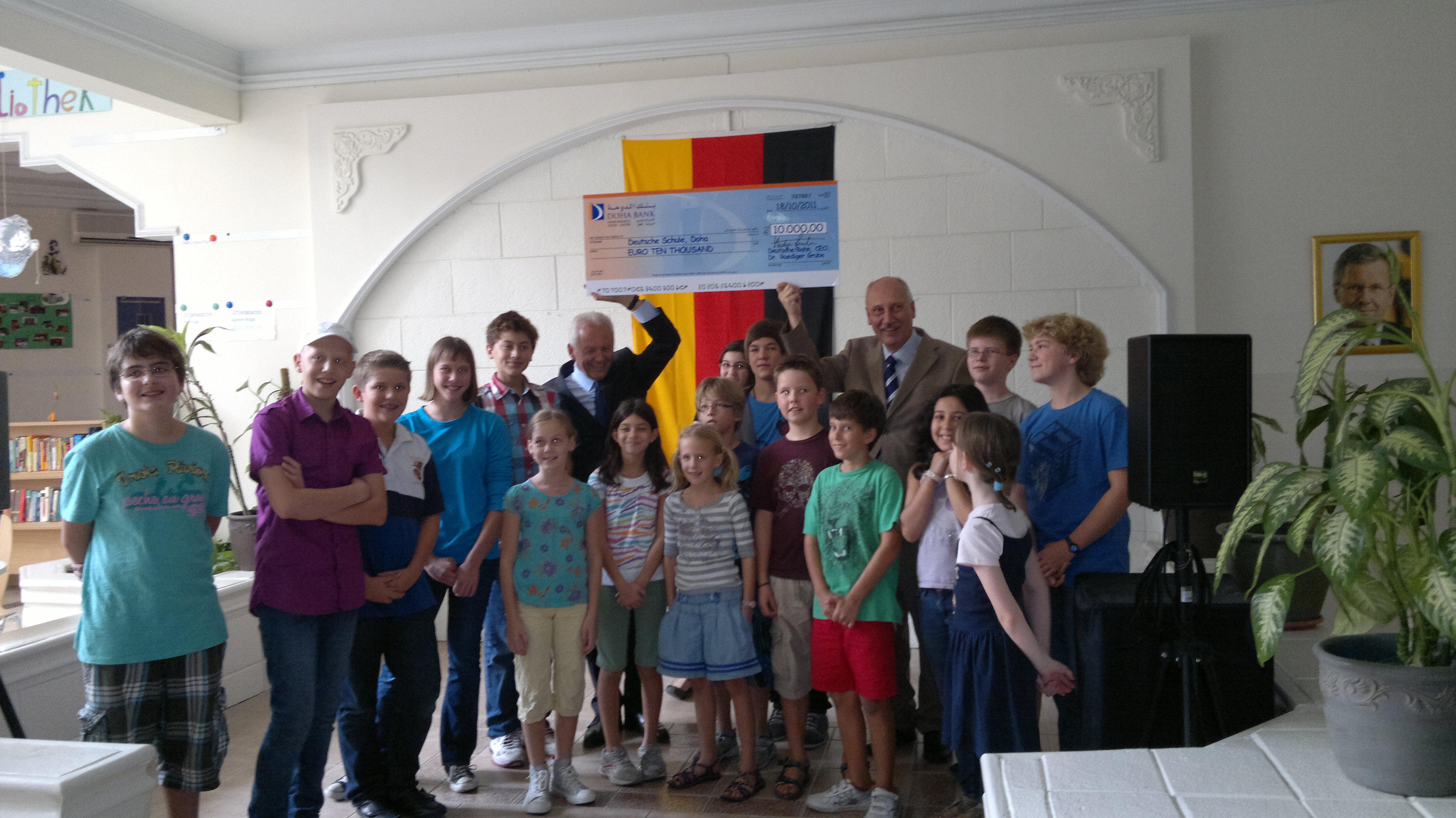 Besuch des Vorstandsvorsitzenden der Deutschen Bahn AG