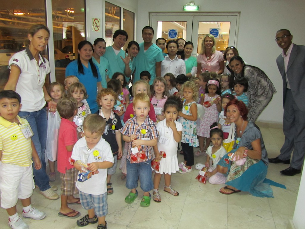 "Der Kindergarten im ""Queen Medical Center"""