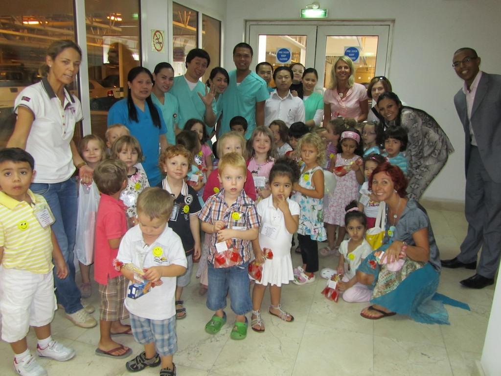 """Der Kindergarten im """"Queen Medical Center"""""""