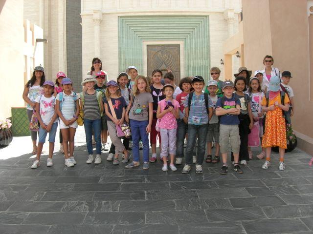 Klasse 3 und 4 führte der Wandertag ins Katara