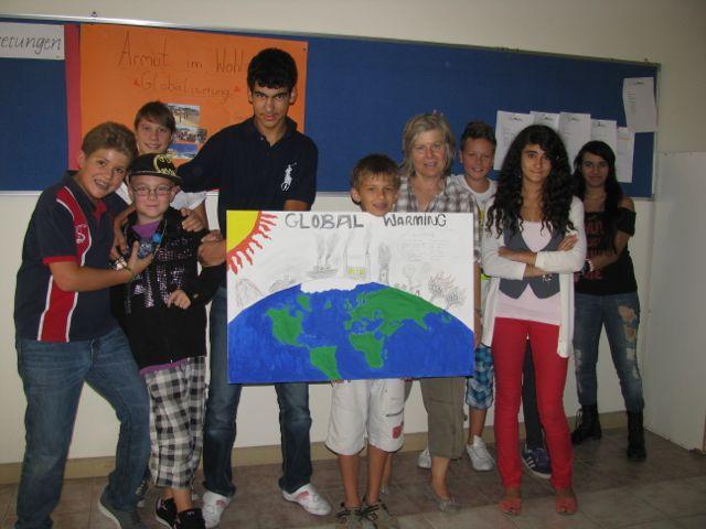 Projektwoche DIS Doha 25.-27.6.2012 / AG Globalisierung und Global Warming