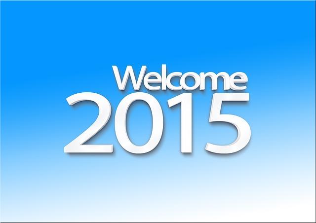 2015 hat begonnen…