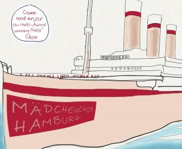 Zu Gast an der DIS-Doha: Der Mädchenchor Hamburg