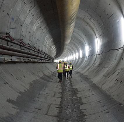 Bilder · Klasse 7 bei ›Green Line Underground‹