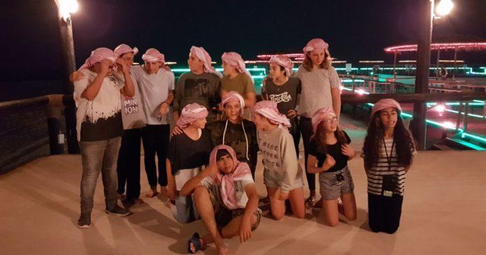 Class trips 2017 · Crossing Qatar