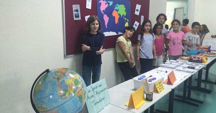 Projektwoche 2017 · Reise um die Welt