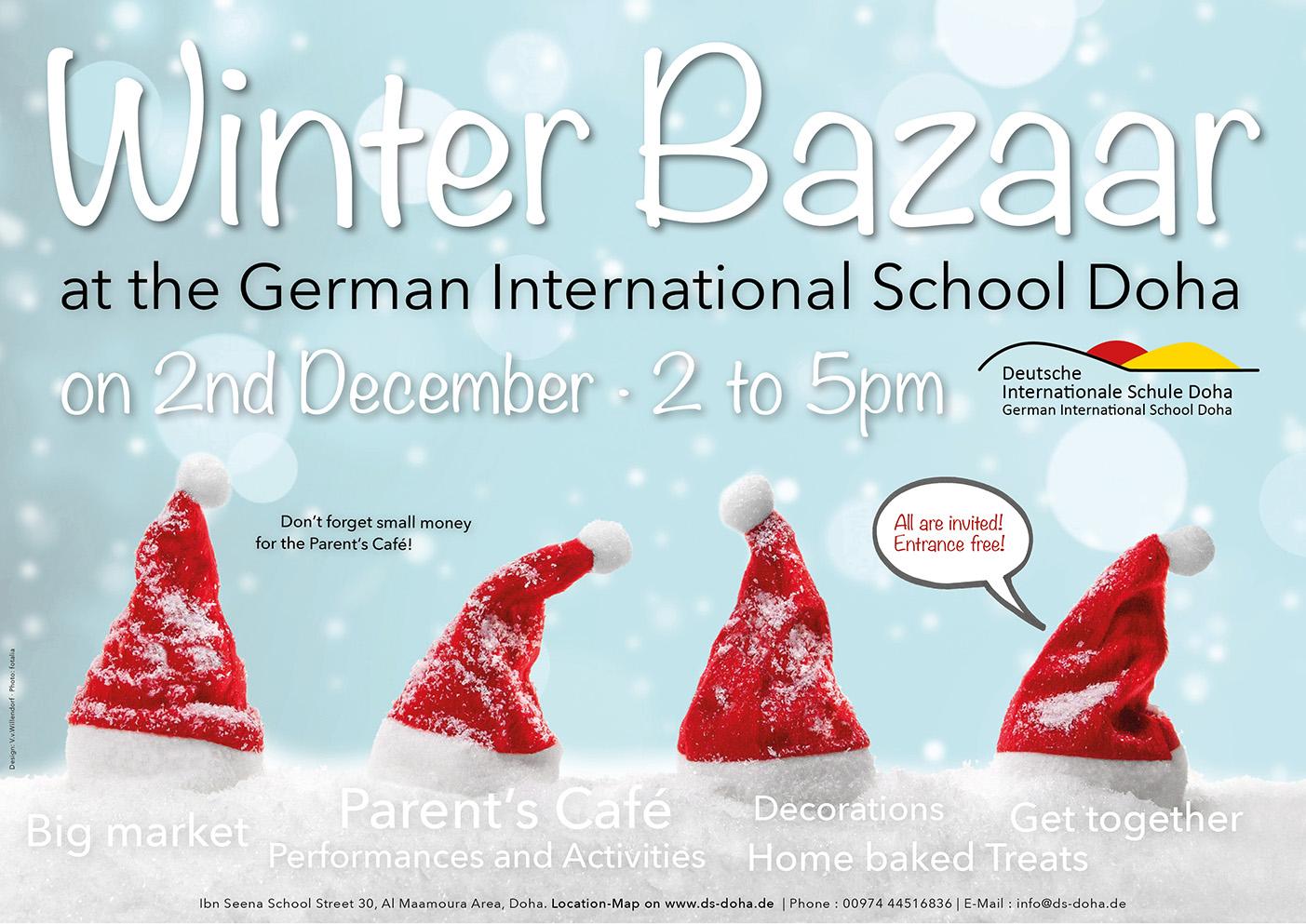 Winter Bazaar At German School Doha 2017 German School Doha