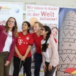 Captain of the FC Bayern Munich women's team at School