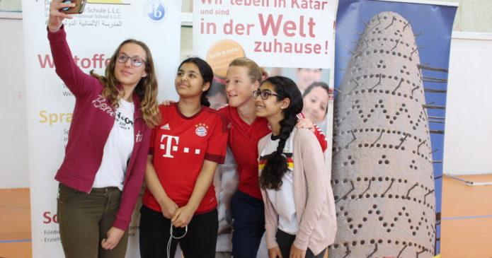 Captain of the FC Bayern Munich women's team at School