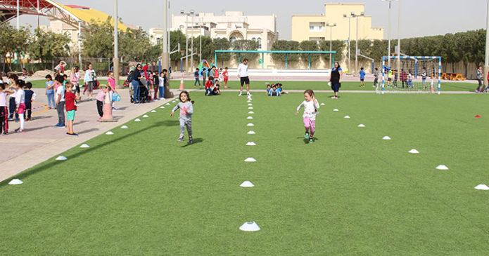 Sportfest im Kindergarten