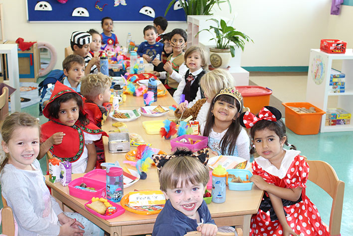 Kiga Fasching 1 German School Doha