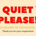 IB Prüfungen: Wir drücken die Daumen!