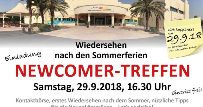 Newcomer-Treffen im September