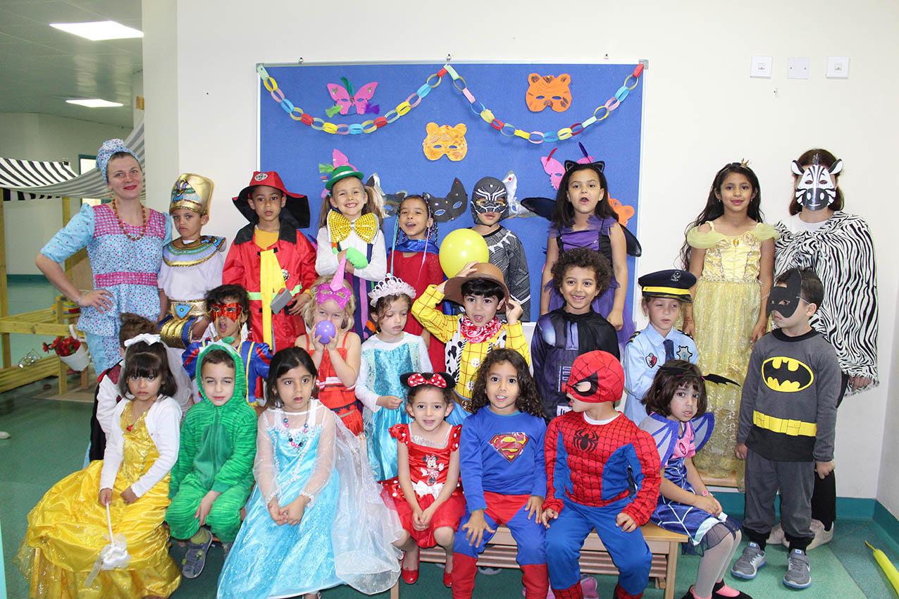 Fasching Fun In The Kindergarten German School Doha